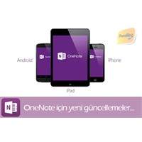 Onenote İphone, İpad Ve Android Sürümü Güncellendi