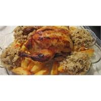 Fazlıkızından İç Pilavlı Tavuk Dolması