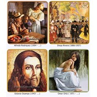 Meksikalı Ressamların Biyografi Ve Tabloları