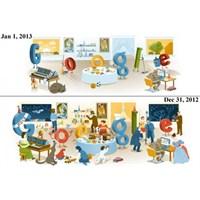 Google'dan Yeni Yıl Doodle'ı