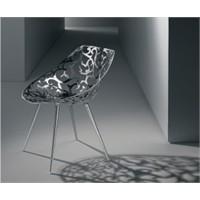 Desenli Metal Sandalye