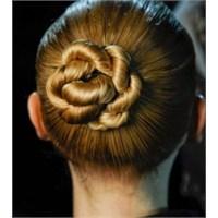2013 Topuz Saç Modelleri