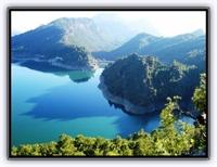 Antalya Isparta Yolu Üzerinkei Karacaören Barajı