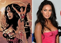 Megan Fox Ve Wonder Woman