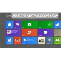 Windows 8 Tanıltıldı Ve İndirilmeye Hazır