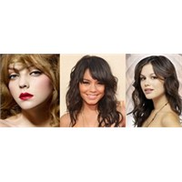 Dalgalı Saç Modelleri 2013