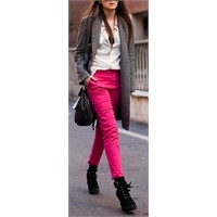 Şeker Renkli Pantolonlar