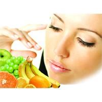 Meyvelerle Güzellik Reçeteniz