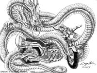 İlgi Çekici Motorsiklet Dövmeleri