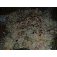 Kuskus Salatası( Makarna Salatasına Alternatif)