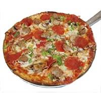 Bahçe Pizzası.. Mantarlı Jambonlu Pizza