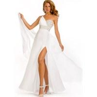 Beyaz Abiye Koleksiyonları : 2013 Modasından