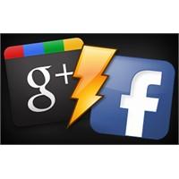 Google Plus & Facebook Karşı Karşıya