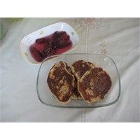 Kahvaltı İçin Lor Peynirli Pankek