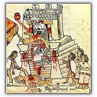 Azteklerin, Kurban Etme Törenleri
