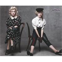 Dakota & Elle Fanning Kardeşler Vogue'de