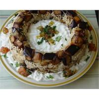 Patlıcanlı Pilav - Yogurtkitabi.Com