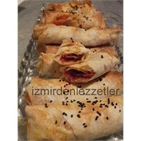 Fırında Paçanga Böreği İzmirdenlezzetler