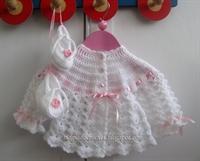 Bebek Örgüleri,bebek Elbise Örnekleri