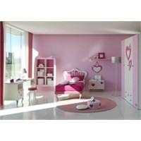 Pembe Genç Kız Odası Modelleri