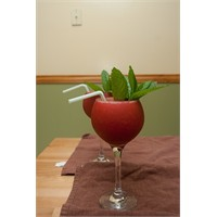 Strawberry And Mint Daiguiri (Kokteyl)