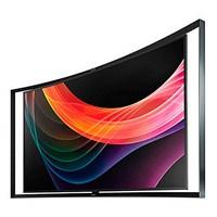 Samsung Kavisli Oled Tv Amerika' Da Satışa Çıkıyor