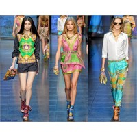 Dolce & Gabbana 2012 İlkbahar Yaz Koleksiyonu Kadı