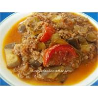 Patlıcan Musakka İzmirdenlezzetler