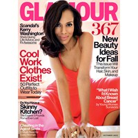 Kapak Kızı: Kerry Washington - Glamour Amerika