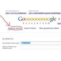 Google Gelişmiş Arama Nasıl Kullanılır