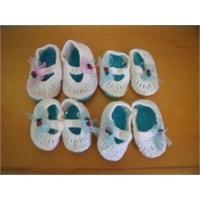 Patikler Geçidi -1-( Knitted Baby Booties)