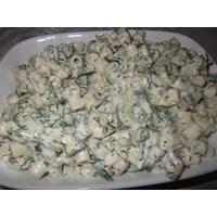 Salatalıklı Dereotlu Makarna Salatası