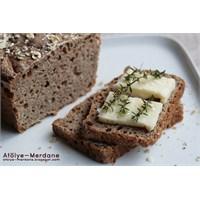 Taze Kekikli Kolay Ekmek (Ekşi Mayalı)
