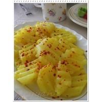 Zerdeçallı Patates Buğulama