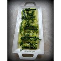 Haşlanmış Kabak Salatası