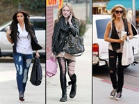 Yırtık Defolu Yeni Moda Trendi