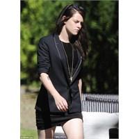 Kristen Stewart Yeni Filmi Sils Maria'nın Setinde