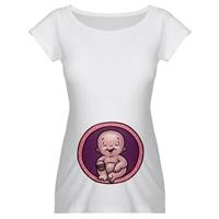 Hamile Bayanlar İçin Eğlenceli T-shirtler