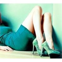 İnce Uzun Topuklu Ayakkabılar …