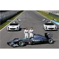 Mercedes F1 W04 Gün Yüzüne Çıktı