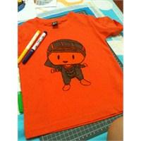 Pepeli Tişört Yapımı