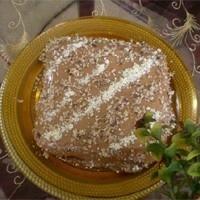 Fındık Ezmeli Pasta
