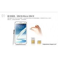 Çift Sim Kartlı Galaxy Note 2 Çin' De Satışta!