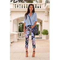 Trend: Floral Pantolonlar