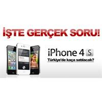 İphone 4s Türkiye'de Kaça Satılacak?