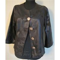 Deri Etek Ceket Takım