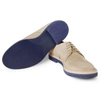 Gucci'den Mavi Tabanlı Buck Shoes