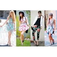 Floral Desenler Nasıl Giyilir?