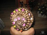 2010 Modası Örgü Çocuk Saç Trendleri