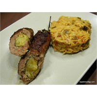 Közlenmiş Patlıcanlı Köfte